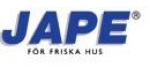 JAPE - tai ekologiška, efektyvi ir nesunkiai naudojama Švedų gamintojo namų priežiūros produktų gama nuo pelėsių, samanų, kerpių, vandens augalų, grybelių, kalkių, kvapų. Taip pat aukštos kokybės šalto spaudimo linų sėmenų alyva su kinišku Tunga medžio aliejumi; Valiklis alyvuotiems arba nealyvuotiems mediniams paviršiams valyti, neutralizuoti ir balinti. Bei priežiūros valikliai dažytiems arba nedažytiems paviršiams, kurie naikina riebalus ir purvą. JAPE produktai tai optimalus kokybės ir kainos derinys.     JAPE priežiūros priemonės skirtos daugumai išorinių bei vidinių namo paviršiams. Priemonės padės pašalinti pelėsį, kerpes, samanas, nemalonius kvapus, kalkes, purvą, riebalus, bakterijas ir kitą.