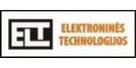 Uždaroji akcinė bendrovė ,,ELEKTRONINĖS TECHNOLOGIJOS'' sėkmingai dirba nuo 1998m. Pagrindinės įmonės veiklos kryptys - specialiosios paskirties elektroninės įrangos projektavimas ir gamyba, programinės įrangos vienkristaliams mikrokontroleriams kūrimas. Įmonės branduolys-aukštos kvalifikacijos inžinieriai-konstruktoriai turintys daugiametę profesionalios garso ir vaizdo aparatūros projektavimo patirtį.  Mūsų atliekamų projektų apimtys labai įvairios - nuo palyginti nesudėtingų analoginių prietaisų iki mikroprocesorinių įrenginių, skirtų specializuotų įrengimų valdymui ir kontrolei, vaizdo bei garso signalų apdorojimui. Projektuodami bei gamindami naudojame patikimų ir gerai žinomų firmų elementinę bazę. Visa tai užtikrina aukštą gaminių patikimumą ir ekonomiškumą. Bendrovėje suprojektuoti originalūs daugiakanaliai garso signalo lygio reguliatoriai veikia Lietuvos bei Latvijos kabelinių televizijų studijose.