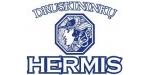 """""""HERMIS"""" yra išgaunamas Druskininkuose, kurie yra garsūs visoje Europoje savo mineraliniais vandenimis ir jų gydomosiomis savybėmis. """"HERMIS"""" – tai graikų Olimpo dievų pasiuntinio vardu pavadintas natūralus mineralinis, silpnos mineralizacijos – 1355mg/l unikalus anijonų (chloro, hidrokarbonatų ir sulfatų) ir katijonų (kalcio, natrio, magnio ir kalio) pastovios cheminės sudėties, natrio chloridinis mineralinis vanduo išgaunamas iš 150 metrų gylio gręžinio Nr. 25311. Nugeležinus specialia technologija, neskiedžiant, nenaudojant jokių priedų, uždaru būdu  išpilstomas į butelius.  Įpakavimas: 0,33, 0,5l ir 1,5l buteliai. Parduodamas neprisotintas ir prisotintas anglies dvideginiu bei su citrinos aromatu."""